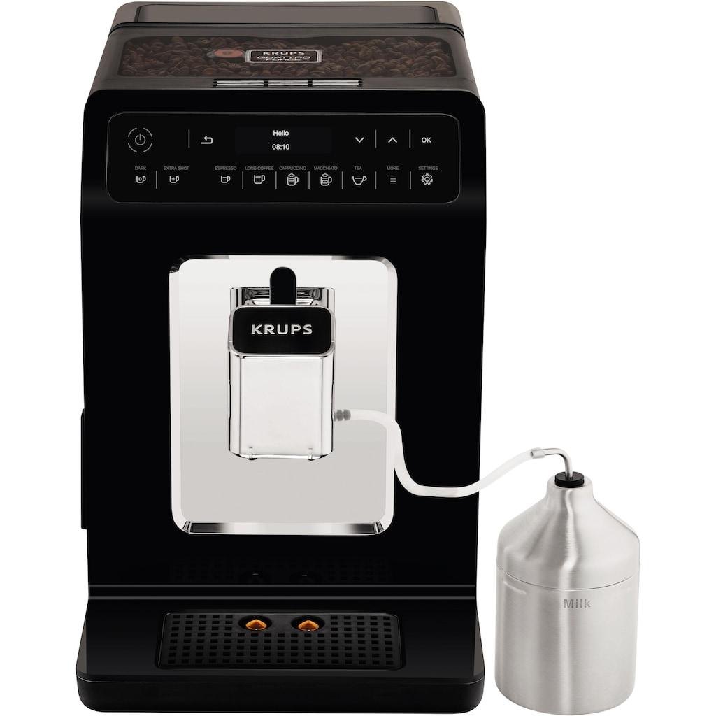 Krups Kaffeevollautomat »Evidence EA8918«, Doppel-Cappuccino-Funktion, 15 Getränkespezialitäten, inkl. 250 gr ESPRESSO KAFFEE - KRUPS BEST im Wert von 6,99 UVP