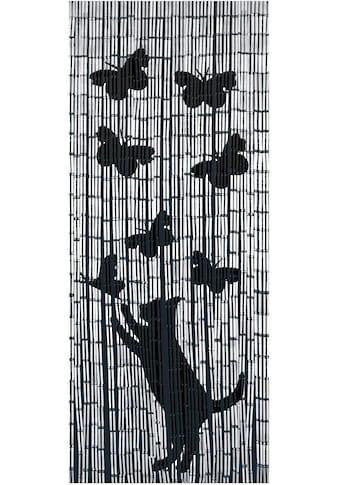 Türvorhang, »Katze&Schmetterling«, WENKO, Hakenaufhängung 1 Stück kaufen