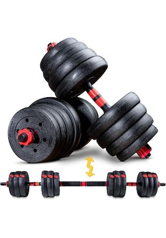 Sportstech Hantel »AH150, 20kg«, 22,5 kg, (Spar-Set, 15 tlg., mit Langhantelstange) kaufen