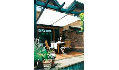 FLORACORD Sonnensegel »Innenbeschattung«, mit Seilspann - Set, BxL: 270x140 cm, 1 Bahn kaufen