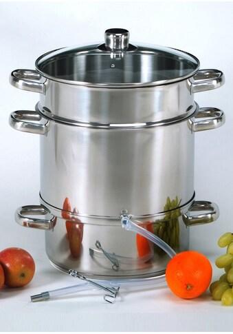 Krüger Einkochtopf, Edelstahl, Fruchtentsafter kaufen