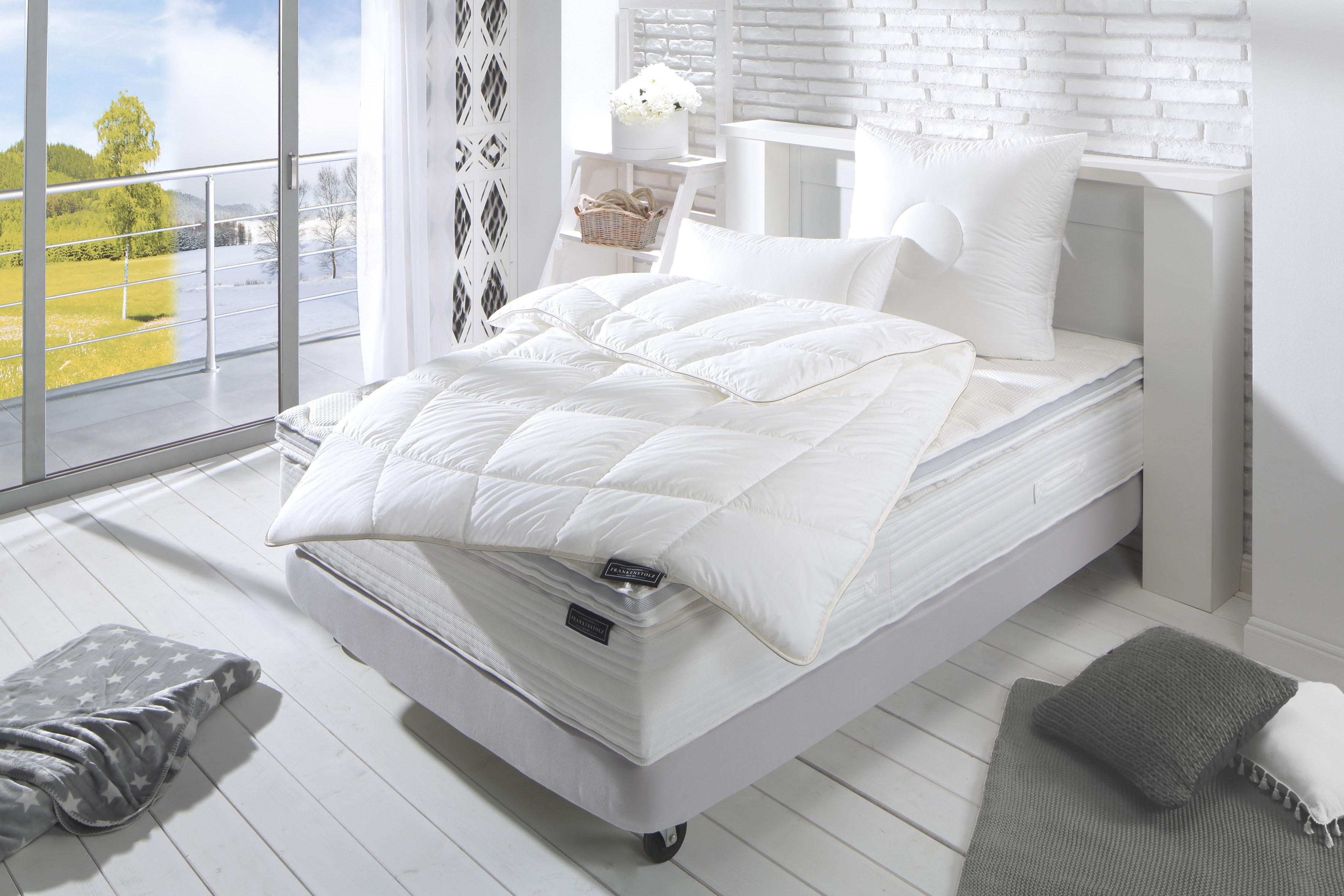 Kunstfaserbettdecke, »frankenstolz Klima«, Frankenstolz | Heimtextilien > Decken und Kissen > Bettdecken | Frankenstolz