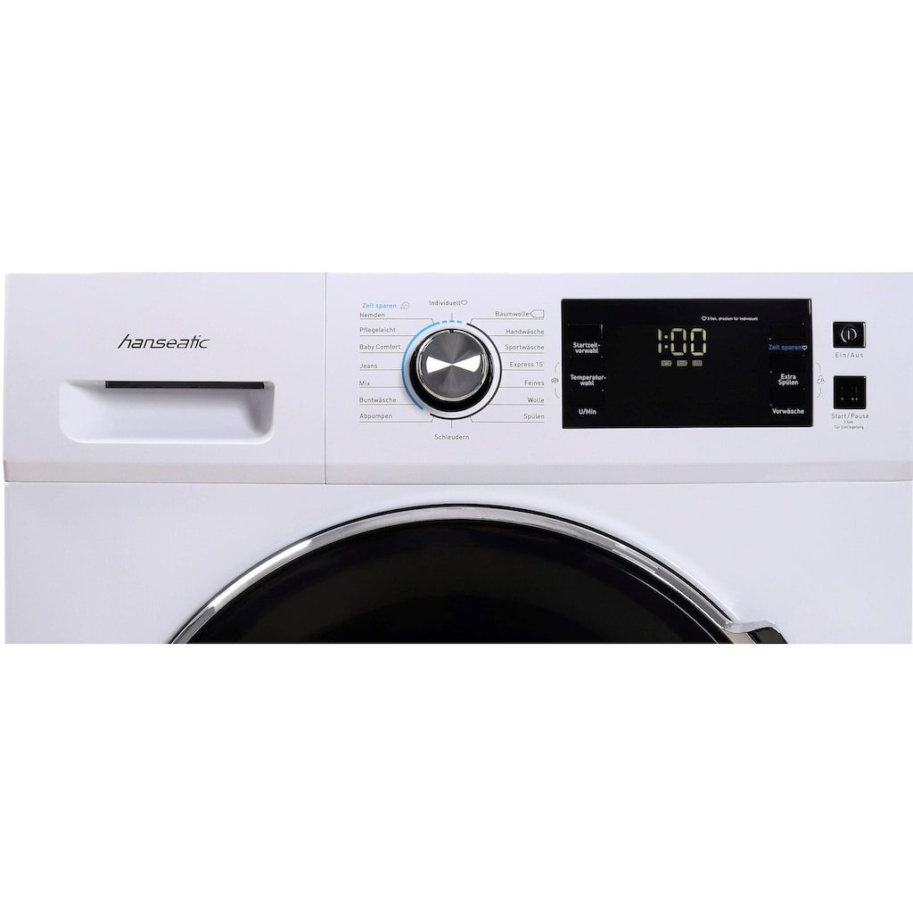 Hanseatic Waschmaschine »HWMB814A3«, HWMB814A3