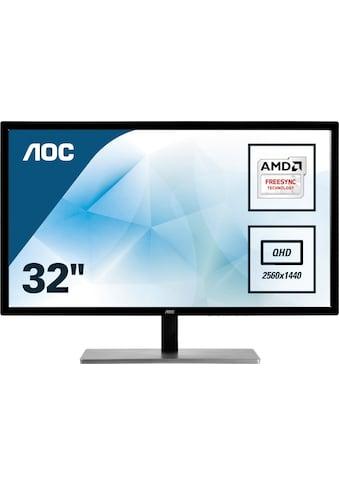 AOC »Q3279VWFD8« LED - Monitor (31,5 Zoll, 2560 x 1440 Pixel, QHD, 5 ms Reaktionszeit, 75 Hz) kaufen