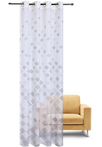 Gerster Vorhang »Jonas«, HxB: 235x140, Moderner Ösenschal bedruckt kaufen