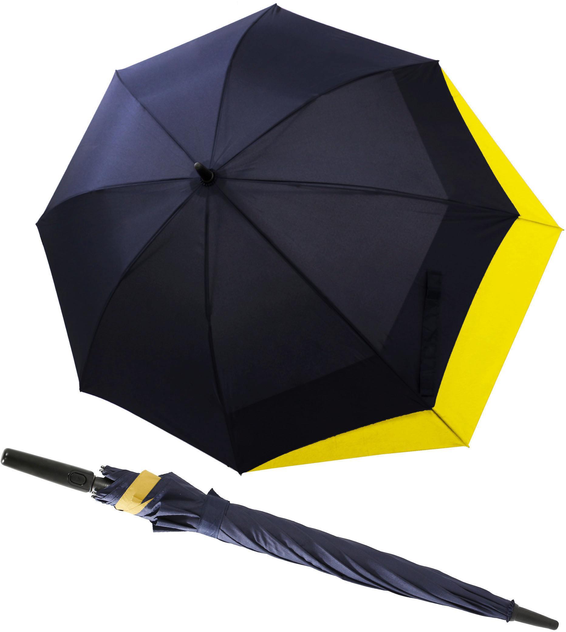 doppler®, Stockregenschirm ´´Fiber Long AC Move´´ | Accessoires > Regenschirme > Sonstige Regenschirme | Blau | DOPPLER