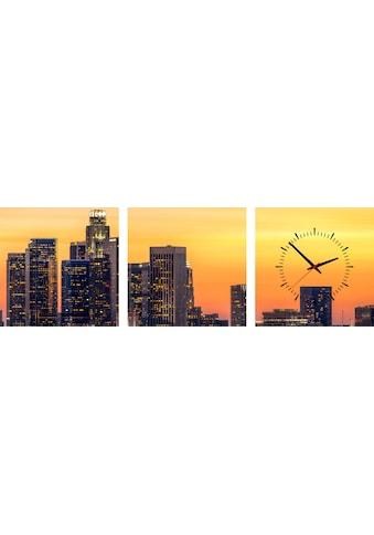 Conni Oberkircher´s Bild »Los Angeles Sunset« (Set) kaufen