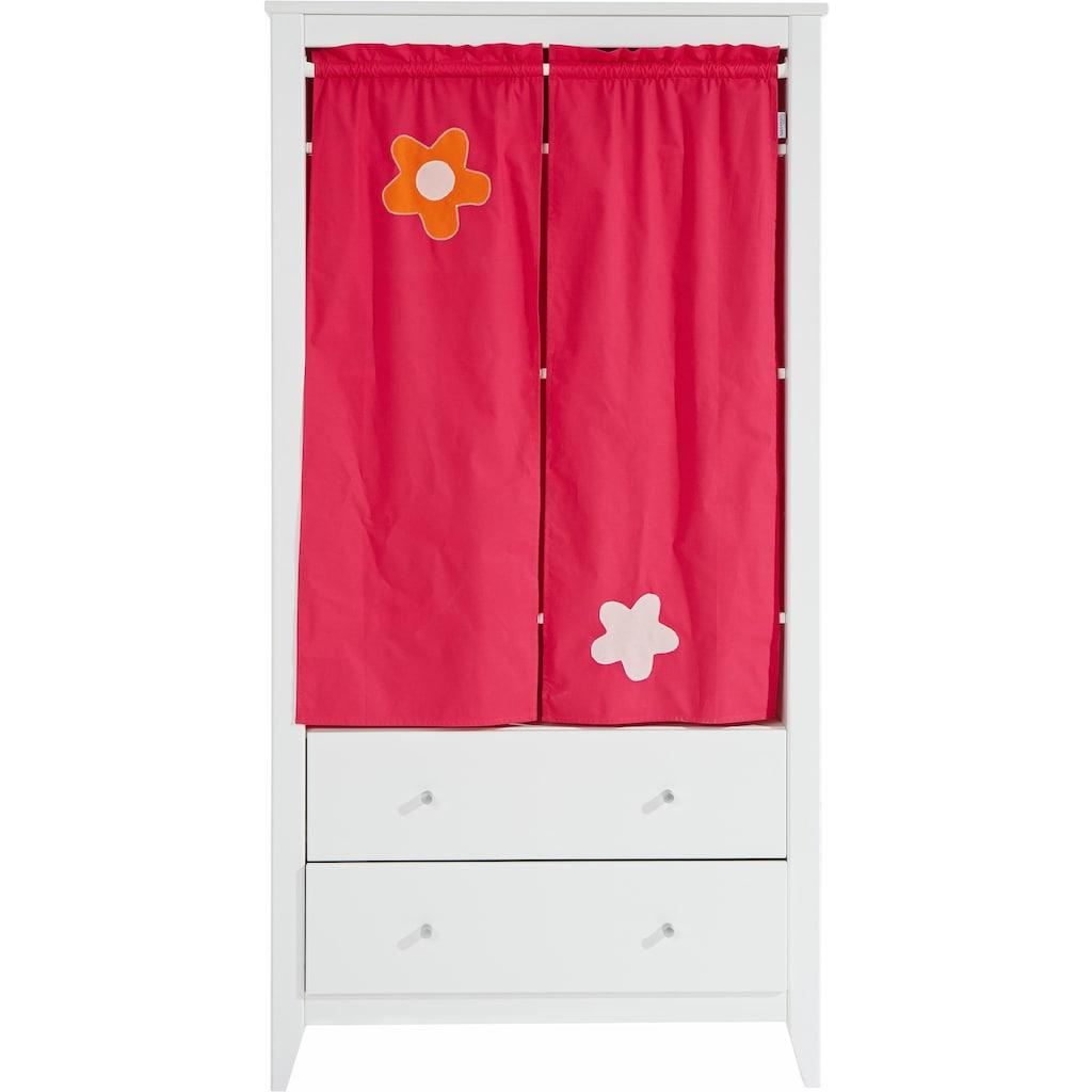 Hoppekids Kleiderschrank »Flowerpower«