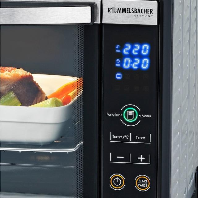 Rommelsbacher, Minibackofen »Elektronik Back & Grill Ofen BGE 1580/E«, Grill