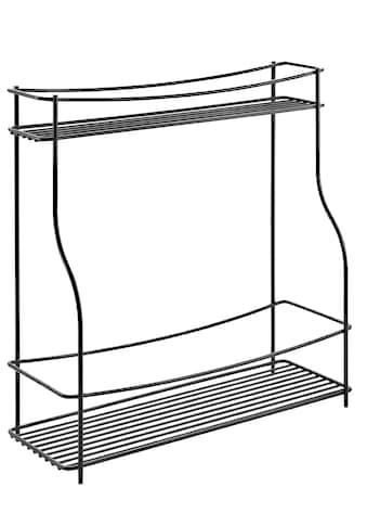 Metaltex Gewürzregal, (1 St.), Industrial Look, 2 Ablageflächen kaufen