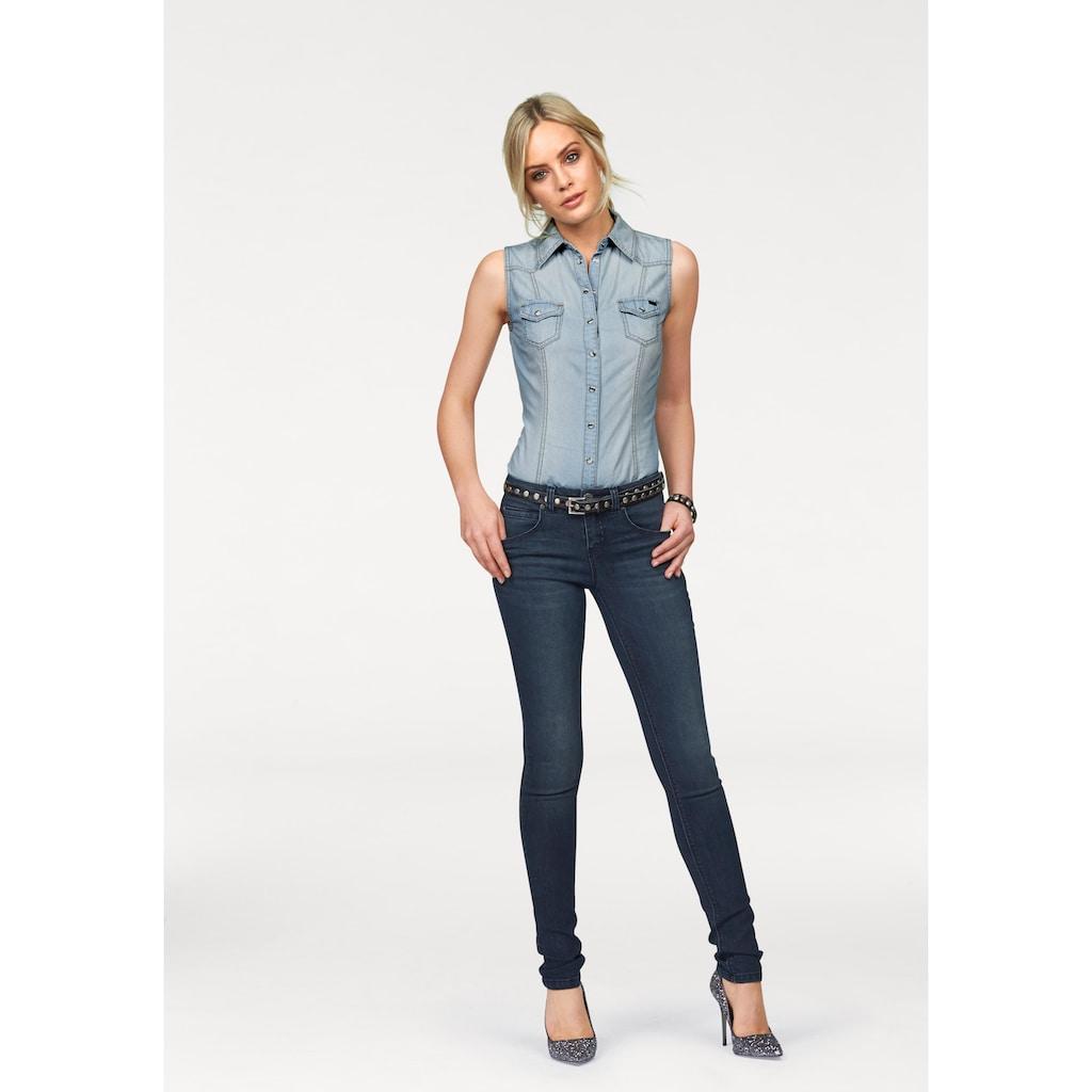 Arizona Skinny-fit-Jeans »Shaping«, Mid Waist