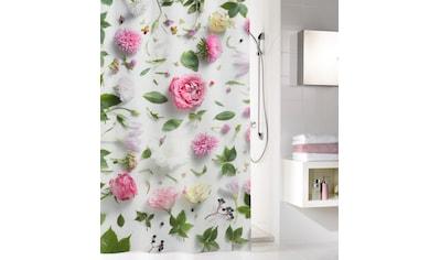Kleine Wolke Duschvorhang »Rosalie«, Breite 180 cm, mit Beschwerungsband kaufen