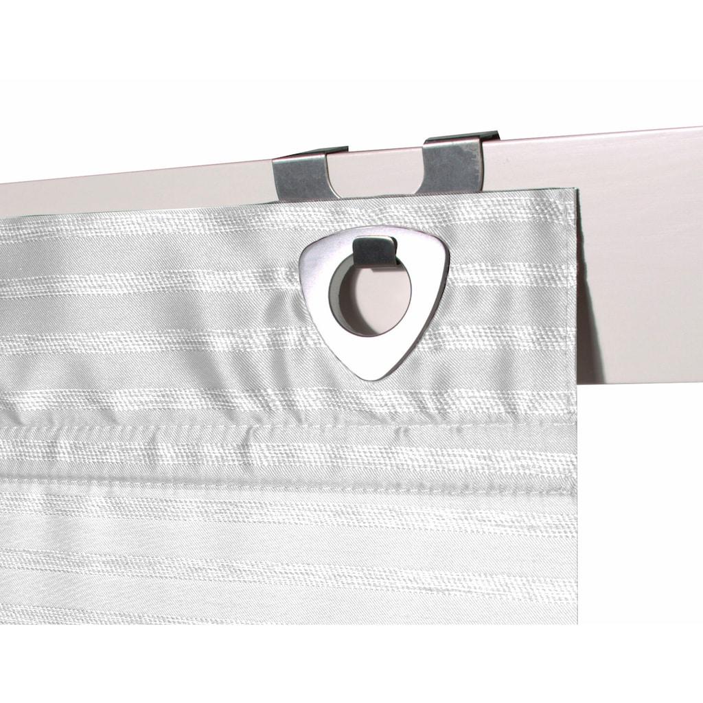 HOME WOHNIDEEN Magnetrollo »TURIN«, mit Hakenaufhängung, ohne Bohren