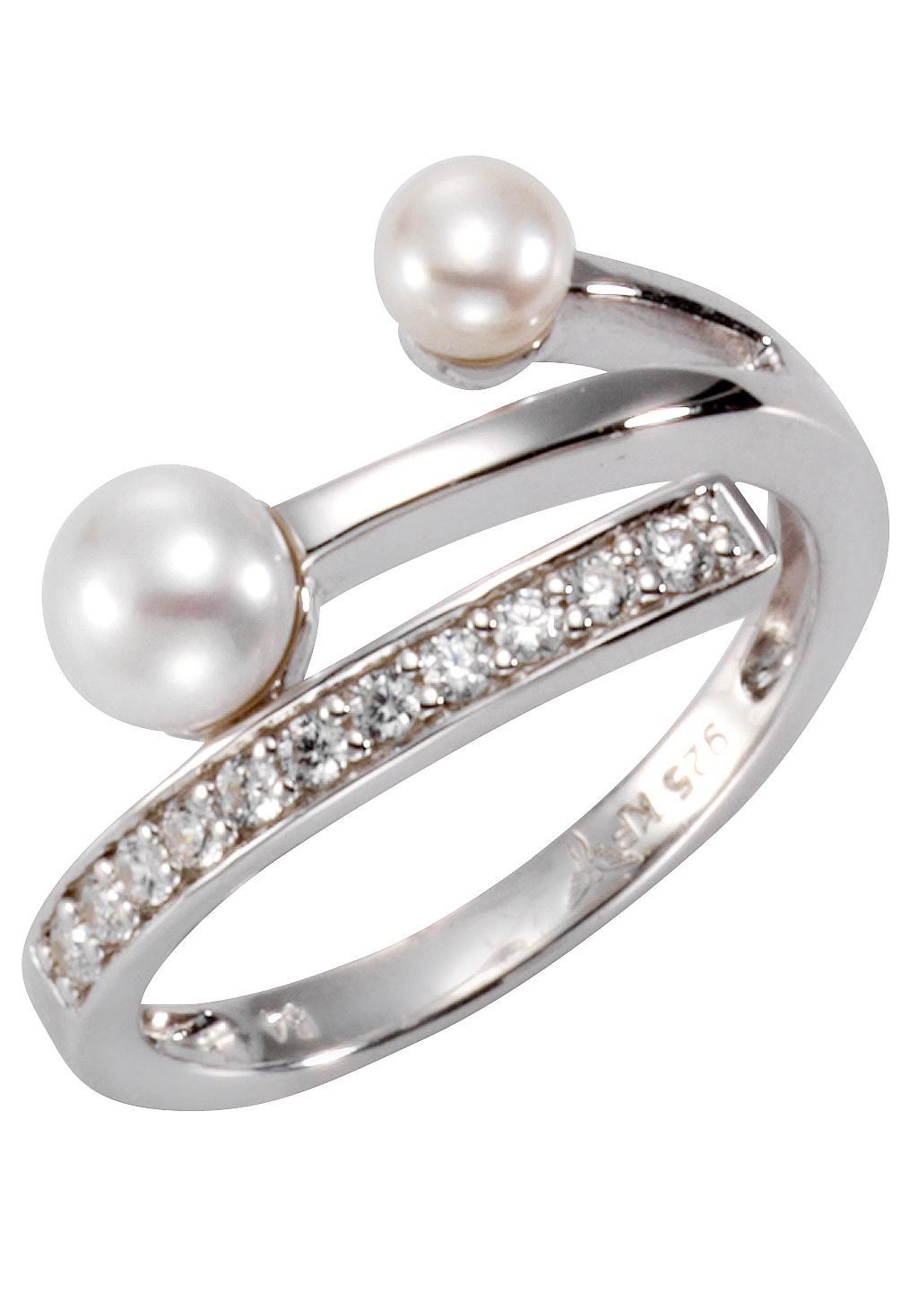 Firetti Perlenring | Schmuck > Ringe > Perlenringe | Weiß | FIRETTI