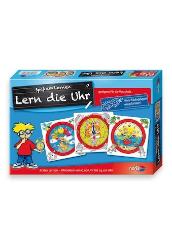 Noris Spiel »Lern die Uhr« kaufen
