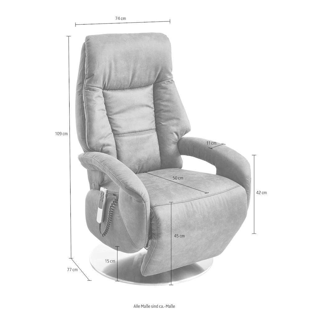 Places of Style TV-Sessel »Launceston«, in Größe S, wahlweise mit Motor und Aufstehhilfe