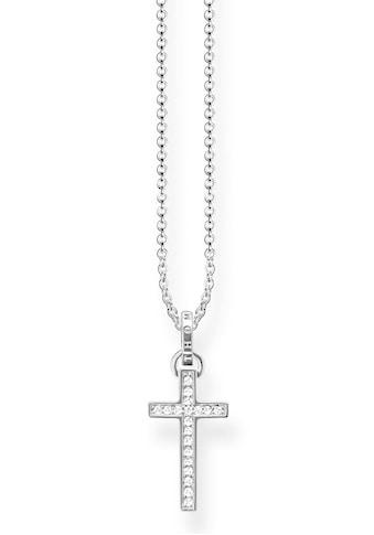 THOMAS SABO Kette mit Anhänger »Kreuz, KE1653 - 051 - 14 - L45v« kaufen