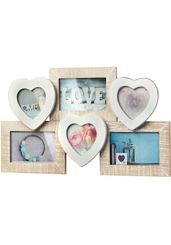 locker Bilderrahmen »Bilderrahmencollage »Heart«« kaufen
