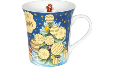Könitz Becher »Adventskalender«, (Packung, 1 tlg.), Rubbelfläche für 24 Adventstürchen kaufen