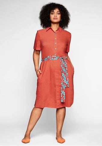 Sheego Blusenkleid, mit Knopfleiste und leichter A-Linie kaufen