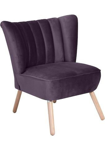 Max Winzer® Sessel »Aspen«, im Retrostil kaufen