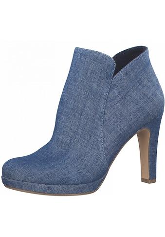 Tamaris High-Heel-Stiefelette, im coolen Jeans-Look kaufen
