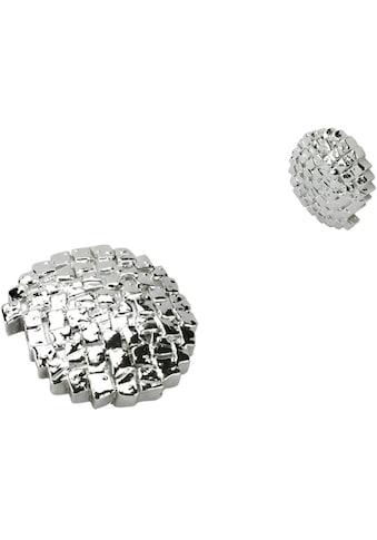 Dekomagnet »Steinoptik«, Liedeco, passend für Gardinen (Packung) kaufen