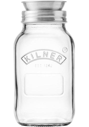 KILNER Spiralschneider »(Kilner-Glas mit Spiraliser-Aufsatz)«, 1 Liter kaufen