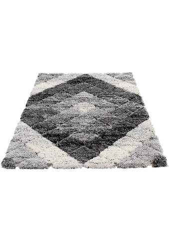 Hochflor - Teppich, »Bahama 8815«, Sehrazat, rechteckig, Höhe 30 mm, maschinell gewebt kaufen