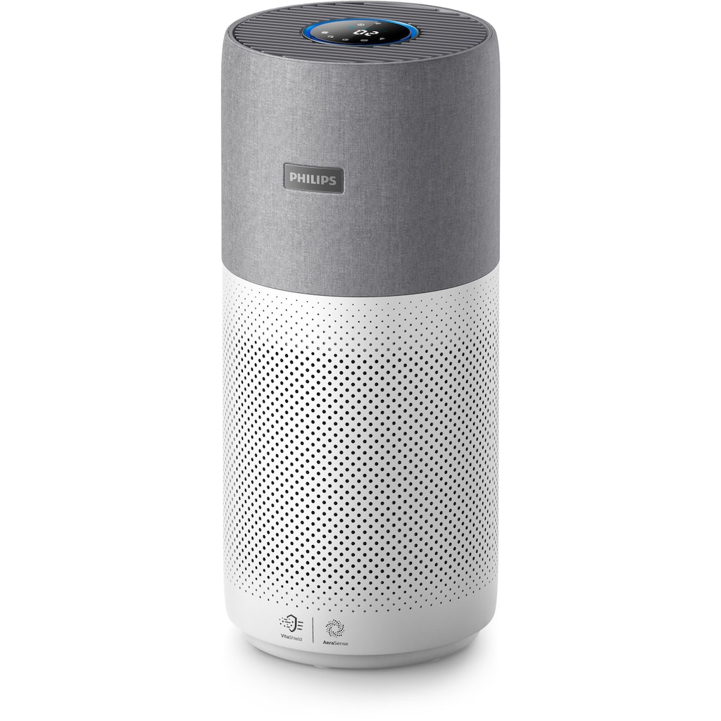 Philips Luftreiniger »AC3033/10 Series 3000i«, für 104 m² Räume, grau/weiß