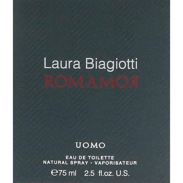 "Laura Biagiotti Eau de Toilette ""Romamor Uomo"""
