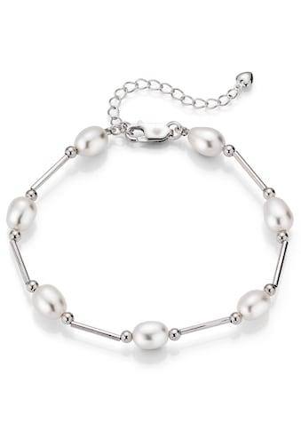 Firetti Silberarmband »rhodiniert, rund, zart schimmernd, edel«, mit... kaufen