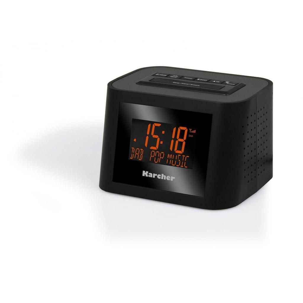 Karcher Digitalradio (DAB+) »DAB 2420«, (Digitalradio (DAB+)-FM-Tuner 1 W)