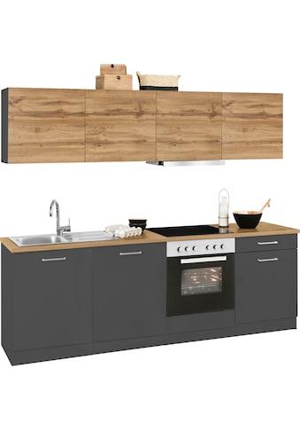 HELD MÖBEL Küchenzeile »Kehl«, mit E-Geräten, Breite 240 cm kaufen