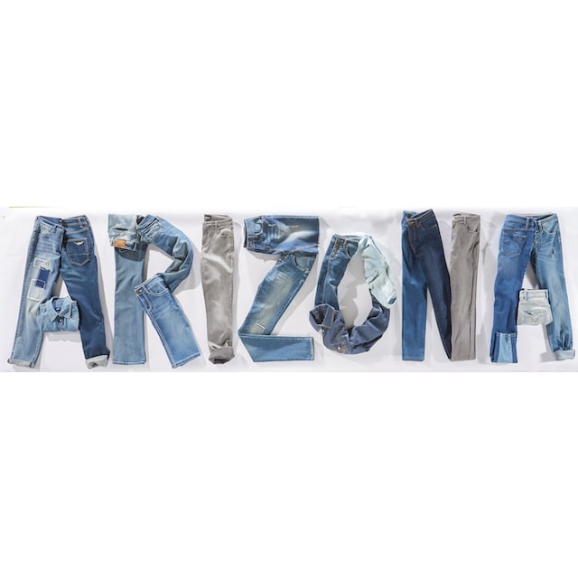 Arizona Bootcut-Jeans »Baby Bootcut«