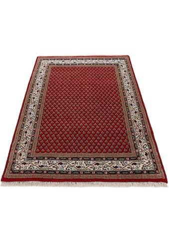 Woven Arts Orientteppich »Orientteppich Mir«, rechteckig, 15 mm Höhe, handgeknüpft, Wohnzimmer, reine Wolle kaufen
