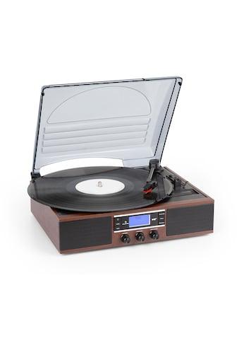 Auna DAB Plattenspieler DAB+/FM Riemenantrieb 33/45 U/min »MG - TT - 138 - DAB« kaufen