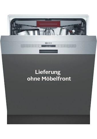 NEFF teilintegrierbarer Geschirrspüler »S145ECS11E«, N 50, S145ECS11E, 13 Maßgedecke kaufen