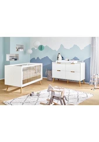 Pinolino® Babymöbel-Set »Edge«, (Spar-Set, 2 St.), mit Kinderbett und Wickelkommode;... kaufen
