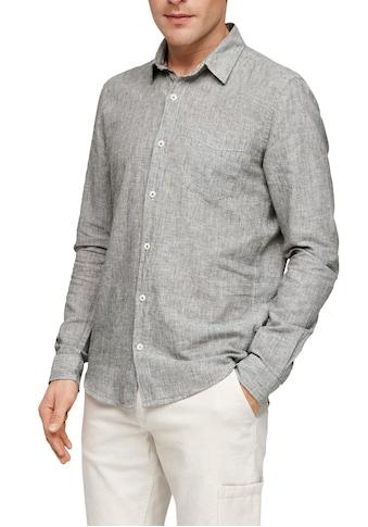 s.Oliver Langarmhemd, mit Brusttasche kaufen