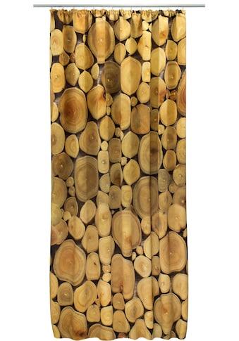 Vorhang, »Jahresringe Natur«, VHG, Kräuselband 1 Stück kaufen