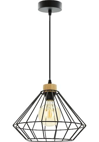 BRITOP LIGHTING Pendelleuchte »RAQUELLE«, E27, Hängeleuchte, Originelle Leuchte aus... kaufen