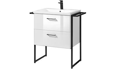 welltime Waschtisch »Trento BLACK«, stehend kaufen
