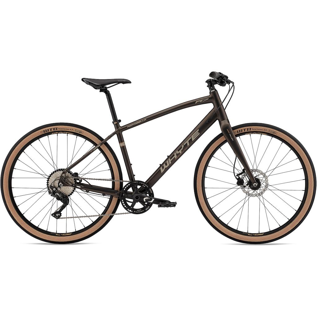 Whyte Bikes Urbanbike »Portobello V1«, 10 Gang, Shimano, Deore Schaltwerk, Kettenschaltung