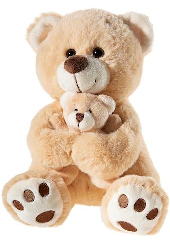 Heunec® Kuscheltier »Bär mit Baby, hellbraun« kaufen