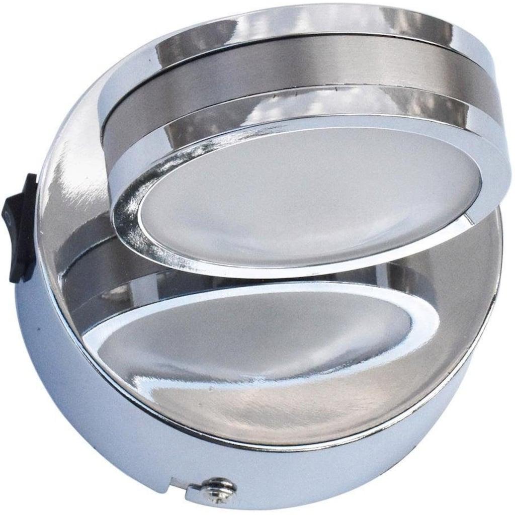 Nino Leuchten LED Wandleuchte »Sparky«, LED-Board, 1 St., Warmweiß