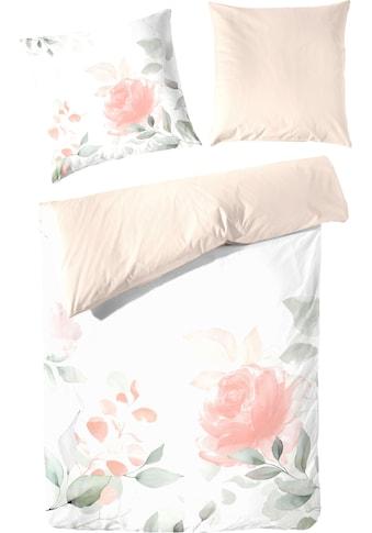 Primera Bettwäsche »Sehnsucht«, mit zarten Blumen kaufen