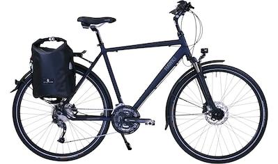 HAWK Bikes Trekkingrad »HAWK Trekking Gent Deluxe Plus Ocean Blue«, 27 Gang Shimano Alivio Schaltwerk kaufen