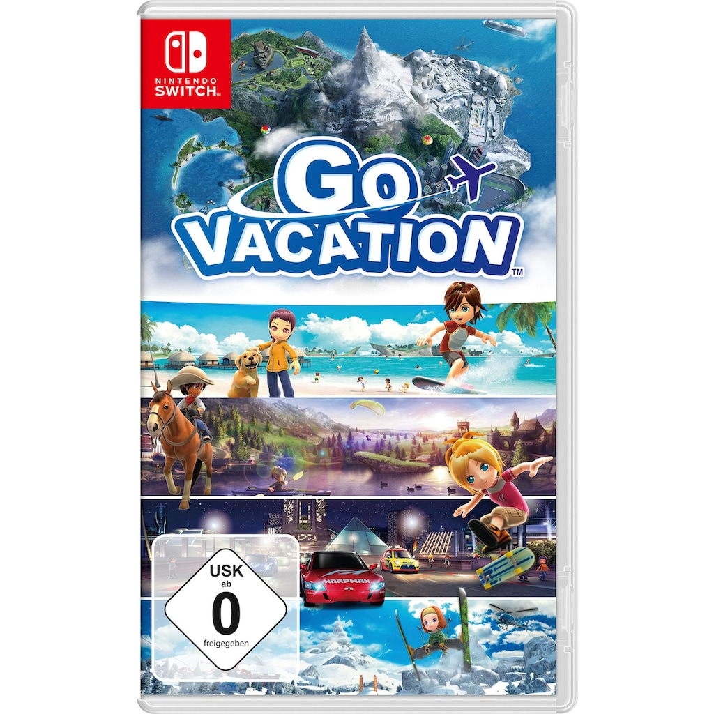 Nintendo Switch Spiel »Go Vacation«, Nintendo Switch