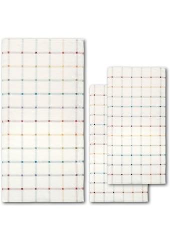 Dyckhoff Handtuch Set »Light Check«, mit dezentem Karomuster kaufen